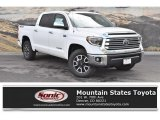 2019 Super White Toyota Tundra Limited CrewMax 4x4 #133042359