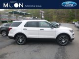 2019 White Platinum Ford Explorer Sport 4WD #133058496