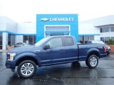 2018 Blue Jeans Ford F150 XL SuperCab 4x4 #133058473
