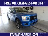 2019 Velocity Blue Ford F150 XL SuperCrew 4x4 #133058431