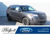 2019 Magnetic Ford Explorer XLT #133078523