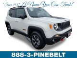 2019 Alpine White Jeep Renegade Trailhawk 4x4 #133078448