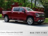2019 Cajun Red Tintcoat Chevrolet Silverado 1500 High Country Crew Cab 4WD #133097134