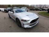2019 Ingot Silver Ford Mustang GT Premium Convertible #133097163