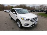 White Platinum Ford Escape in 2019