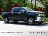 2019 Shadow Gray Metallic Chevrolet Silverado 1500 LTZ Crew Cab 4WD #133097135