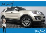 2017 White Gold Ford Explorer Limited 4WD #133108332