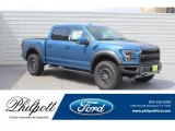 2019 Performance Blue Ford F150 SVT Raptor SuperCrew 4x4 #133108287