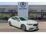 2018 Bellanova White Pearl Acura TLX V6 Technology Sedan #133108170