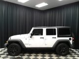 2016 Bright White Jeep Wrangler Unlimited Willys Wheeler 4x4 #133127561