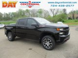 2019 Black Chevrolet Silverado 1500 Custom Z71 Trail Boss Double Cab 4WD #133127631