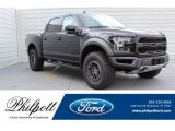 2019 Agate Black Ford F150 SVT Raptor SuperCrew 4x4 #133127726