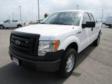 2011 Oxford White Ford F150 XL SuperCab 4x4 #133146632