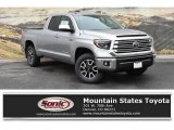 2019 Silver Sky Metallic Toyota Tundra Limited Double Cab 4x4 #133146457