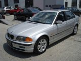 2000 Titanium Silver Metallic BMW 3 Series 323i Sedan #13293131
