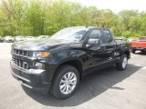 2019 Black Chevrolet Silverado 1500 Custom Double Cab 4WD #133166353