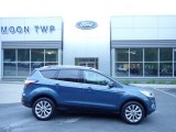 2018 Blue Metallic Ford Escape Titanium 4WD #133166435