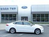 2018 Oxford White Ford Fusion Hybrid SE #133166432
