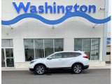 2019 Platinum White Pearl Honda CR-V EX #133191115
