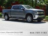 2019 Satin Steel Metallic Chevrolet Silverado 1500 LT Crew Cab 4WD #133191244