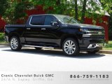 2019 Black Chevrolet Silverado 1500 High Country Crew Cab 4WD #133191242