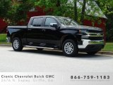 Black Chevrolet Silverado 1500 in 2019