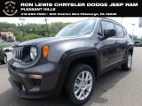 2019 Granite Crystal Metallic Jeep Renegade Latitude 4x4 #133191267