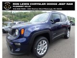 2019 Jetset Blue Jeep Renegade Latitude 4x4 #133191266