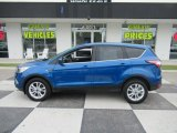 2017 Lightning Blue Ford Escape SE #133191263