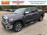 2018 Magnetic Gray Metallic Toyota Tundra Limited CrewMax 4x4 #133219124