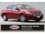 2014 Red Brick Nissan Sentra SV #133225782