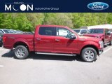 2019 Ruby Red Ford F150 Lariat SuperCrew 4x4 #133225809