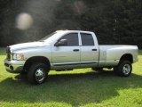 2004 Bright Silver Metallic Dodge Ram 3500 SLT Quad Cab 4x4 Dually #13309080