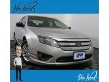 2010 Brilliant Silver Metallic Ford Fusion S #133225867