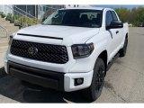 2019 Super White Toyota Tundra SR5 Double Cab 4x4 #133225748