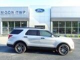 2016 Ingot Silver Metallic Ford Explorer Sport 4WD #133225823
