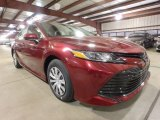 2019 Ruby Flare Pearl Toyota Camry Hybrid LE #133247914