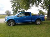2015 Blue Flame Metallic Ford F150 XLT SuperCab 4x4 #133247539