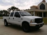 2002 Oxford White Ford F250 Super Duty XL Crew Cab 4x4 #13309783