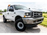 2002 Oxford White Ford F250 Super Duty XL SuperCab 4x4 #133247891