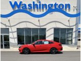 2019 Rallye Red Honda Civic Sport Sedan #133247644