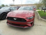 2019 Ruby Red Ford Mustang EcoBoost Fastback #133287536