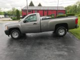 2013 Graystone Metallic Chevrolet Silverado 1500 Work Truck Regular Cab #133287565