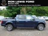 2019 Blue Jeans Ford F150 XLT SuperCrew 4x4 #133312411