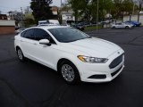 2013 Oxford White Ford Fusion S #133312661