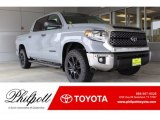 2019 Cement Toyota Tundra TSS Off Road CrewMax 4x4 #133312486