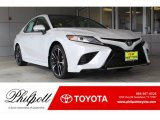 2019 Wind Chill Pearl Toyota Camry XSE #133312483