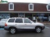 2004 Pewter Hyundai Santa Fe LX #13309027