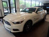 2015 50th Anniversary Wimbledon White Ford Mustang 50th Anniversary GT Coupe #133312459