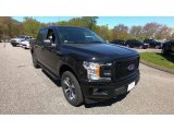 2019 Agate Black Ford F150 XL SuperCrew 4x4 #133332402